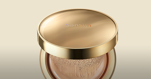 SECRET NATURE Cherry Blossom Pink Tone up Sun Cushion